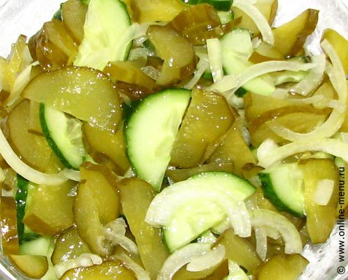 консервация салатов из огурцов рецепты с фото