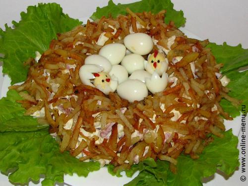 Кулинарные рецепты фото салатов