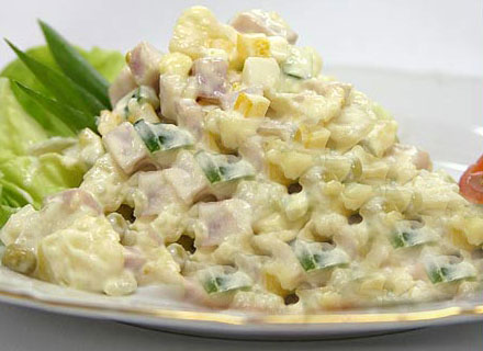 Настоящий салат Оливье - рецепт - NewsUkraine.