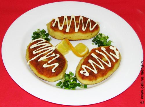 зразы картофельные с рыбой