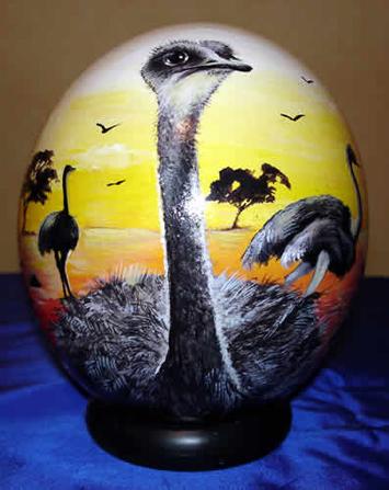 яйца страусиные