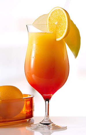 Рейтинг коктейлей.  B 7. Текила Санрайз (Tequila Sunrise)/B BR Состав...