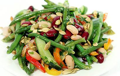 salat fasol full Рецепты салатов из свеклы