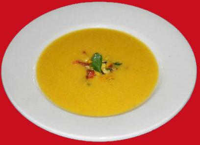 Суп пюре из кукурузы