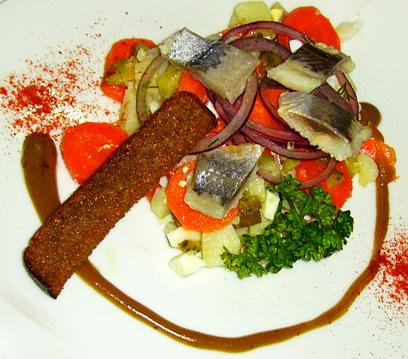 Салат крестьянский рецепт с сельдью