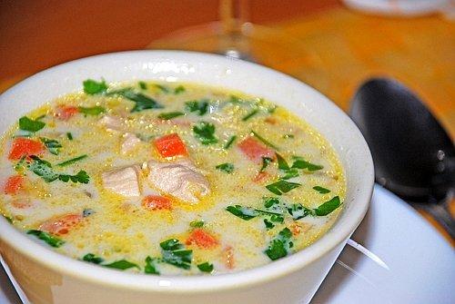 супы из курицы рецепты с фото