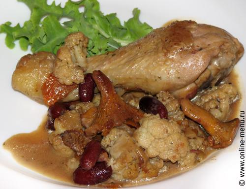 рецепт салата курицы и маринованного лука