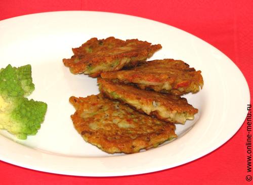 оладьи крабовые с капустой брокколи