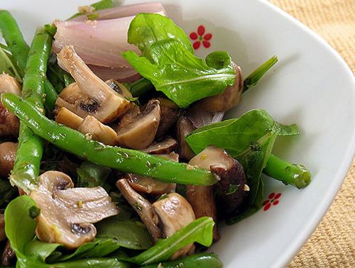 рецепт салата ветчина с шампиньонами