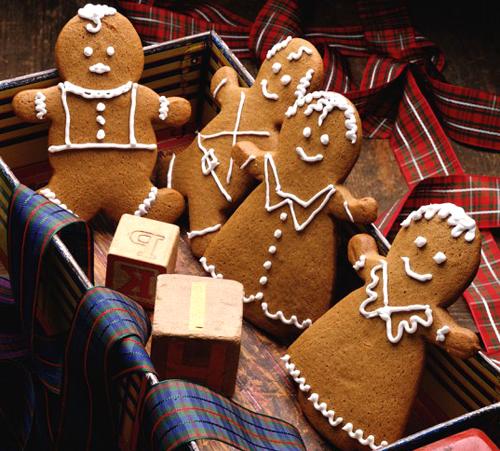 имбирное печенье, Рождественское печенье