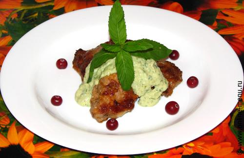 зеленый соус из авокадо - рецепт