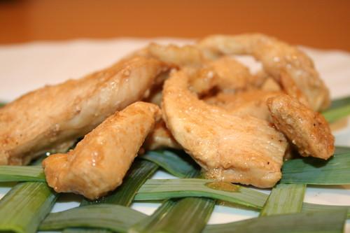 Куриное филе с паприкой и медом