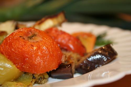 гратинированные овощи в духовке