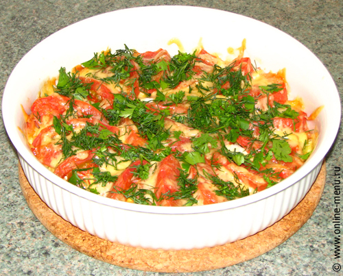 Брокколи с ветчиной под сыром — рецепт - Онлайн-меню ...: http://www.online-menu.ru/archives/4178