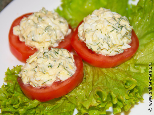 рецепт закуски хрен с помидорами #15