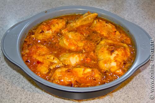Рыбные котлеты в томатном соусе фото