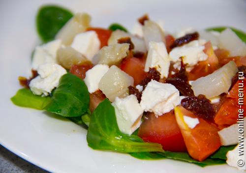Салат из палтуса фото копченого
